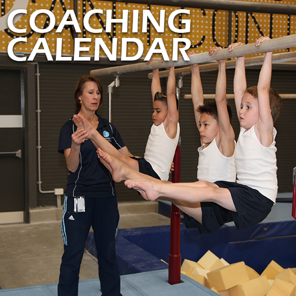 Gymnastics NSW | Coaching Calendar