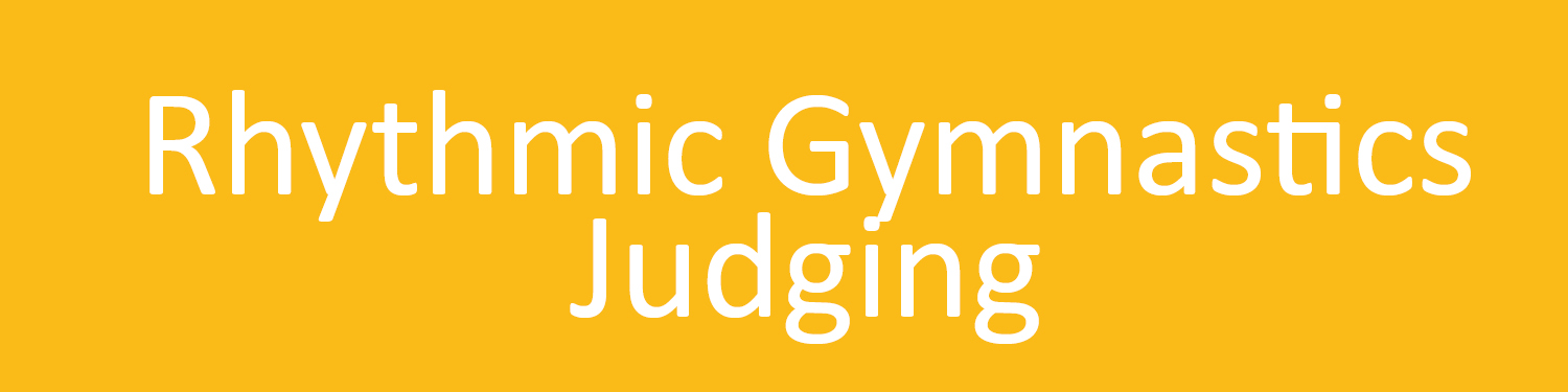 Rhythmic Gymnastics Judging